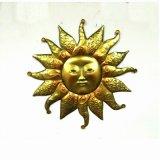 다채로운 정원 금속 나비 W. 스테인드 글라스 꽃 벽 훈장