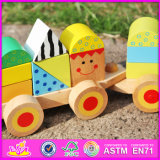 2016 neues Entwurfs-Form-Kind-Spielzeug-hölzerner Serien-Block W04A282