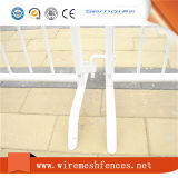 La qualité galvanisée à chaud a rappelé barrière de contrôle, barrière rappelée blanche de contrôle, barrière d'événement