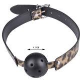 Luxuriöse Leopard-erwachsene Spiel-Knechtschaft-gesetztes Fetisch Bdsm Knechtschaft-Installationssatz-Begrenzungs-Geschlechts-Spielzeug für Paare
