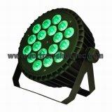 Flacher LED-NENNWERT RGBW 18X8w
