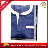 Pyjamas en gros de couleur solide de Spandex de polyester chinois