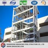 Construction multi de structure métallique d'étage pour le bureau
