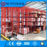 Cremalheira resistente da pálete da solução elevada do armazenamento do armazém