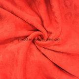 Cortar los colores de la tela de lana de Jacquard de terciopelo