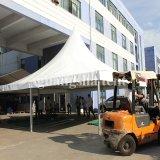 grande mostra di esposizione del Gazebo del PVC del baldacchino di alluminio 4X4 che fa pubblicità alla tenda