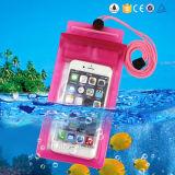 Poche de téléphone mobile d'épreuve de l'eau pour l'iPhone 7 cas de 5.5/4.7 pouces