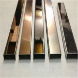 Canal 316 en acier inoxydable U pour serrage en verre