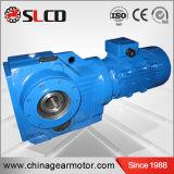 Fabricante profesional de reductor biselado helicoidal de la serie del kc para la máquina