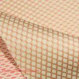 Poliéster tejido jacquard tela teñida tejido teñido jacquard Tejidos de fibras químicas de la capa del juego de prendas de vestir Textiles para el hogar