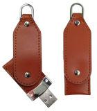 Vara de couro do USB (KH L002)