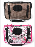 Saco de portador de dobramento de venda quente do animal de estimação de EVA do cão da manufatura