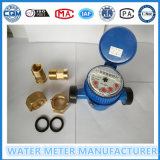 4 ponteiros 5 dígitos Water Meter Single Jet