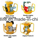 Изготовление вала конкретной вибромашины с бензиновым двигателем Robin