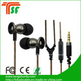 Auriculares de auriculares de 3,5 mm de cable redondo universal