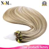 Estensione differente dei capelli di colori dei micro dell'anello dei capelli della cheratina capelli di punta