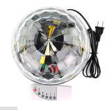 Luz de la etapa del LED Lámpara giratoria del color completo
