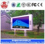 Niedriger Preis und im Freien farbenreiche LED Bildschirm-Bildschirmanzeige der Qualitäts-HD P6