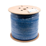 Gato 6 do ftp no twisted pair de 0.58mm com fio CAT6 do dreno com isolação do HDPE
