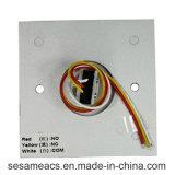 Алюминиевый сплав отсутствие кнопки двери COM с голубым Backlight (SB5KR)