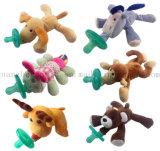 Soem-Silikon-Baby-Plüsch-Puppe-Spielzeug mit Soother Friedensstifter