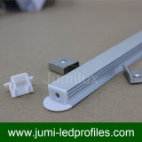 T 모양 알루미늄 LED 단면도, LED 밀어남, LED 테이프 빛을%s LED 채널