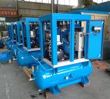 Compressor de ar montado do ruído do parafuso baixo tanque lubrificado (KA7-08/250)