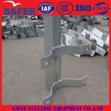 Braço transversal de aço galvanizado da linha de transmissão acessórios