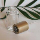 frasco de vidro do conta-gotas 30ml para a embalagem cosmética