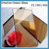 vetro ricoperto/riflettente di 3-12mm per costruzione e la parete divisoria