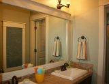 De milieu Spiegels van de Badkamers van het Koper Vrije