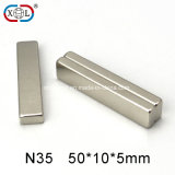 Chine fournisseur en gros N35 Block Neodymium Magnet of Permanent NdFeB