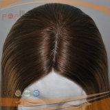 La mano ha legato tutta la parrucca del merletto della parte superiore della pelle dei capelli umani