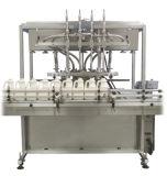 Machine à étiquettes linéaire liquide de machine de remplissage de piston de bouteille complètement automatique