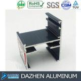 Perfil de aluminio modificado para requisitos particulares de la protuberancia de la alta calidad con la capa anodizada