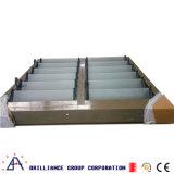 Feritoia di vetro di alluminio