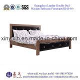 1인용 침대 나무로 되는 침대 호텔 가구 중국 침실 가구 (SH-024#)