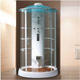 Unidades libres de la ducha con la tapa de acrílico azul
