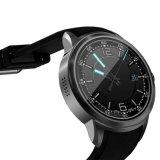 1.39inch Amoled HDスクリーンMtk6780のクォードのコア人間の特徴をもつ3Gは心拍数のモニタが付いているSIMのカードのスマートな腕時計を防水する