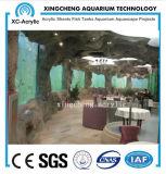 Proyecto transparente modificado para requisitos particulares del restaurante del acuario