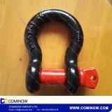 SchraubeG209 pin-Anker-Fessel/wir Typ Absinken geschmiedete Bogen-Fessel
