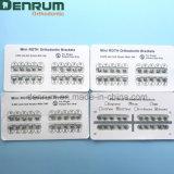 La fabricación FDA/Ce/ISO de Denrum certificó el corchete ortodóntico arruinado arena de Meshbase Roth