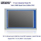 IP65安い17インチによって埋め込まれる産業接触パネルのパソコン