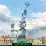 14 duim - de lange Waterpijp van het Glas van de Installaties van de SCHAR van de Recycleermachine Klien met Matrijs Perc