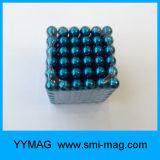 Cubo neo de las bolas magnéticas del bulto del imán de la esfera del diámetro 5m m para la venta