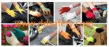 Katoenen van Ddsafety 2017 Gele Latex Met een laag bedekte Werkende Handschoenen