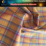 より軽いナイロン速くワイシャツのための乾燥したのヤーンによって染められるファブリック