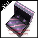 L'abitudine cinese tessuta seta di 100% inscatola la cravatta