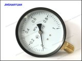 """4 """"概要の圧力計--最下のタイプ"""
