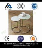 Рамка металла поверхности мрамора журнального стола Мелроуза Hzct139